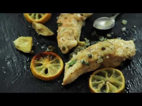Chicken Recipes – How to Make Chicken Piccata with Artichoke Hearts
