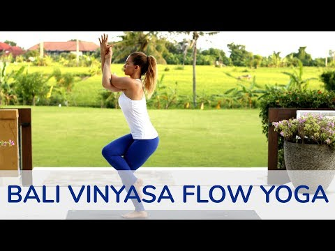 Vinyasa Flow Yoga Workout in Bali | Tim Senesi Yoga