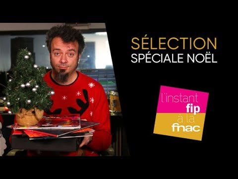 L'instant Fip à la Fnac présente sa sélection des plus beaux vinyles pour Noël