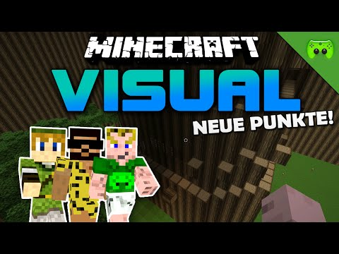 MINECRAFT Adventure Map # 4 - Visual Project 2 «» Let's Play Minecraft Together | HD