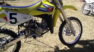 10. Suzuki rm85 2010