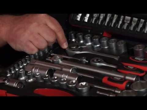Red Tools 108 tlg. Super Lock Werkzeugkoffer