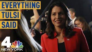 Everything Tulsi Gabbard Said During the First Democratic Debate | NBC New York