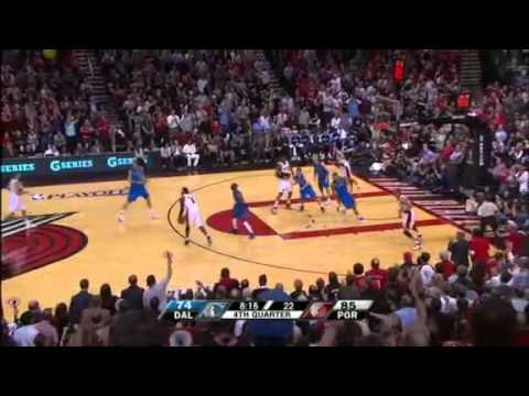 Game 3: Chris Johnson blocks Dirk Nowitzki
