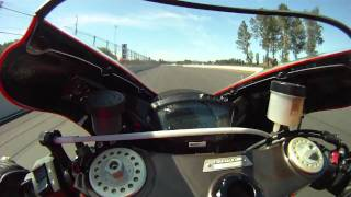 9. Onboard a 2008 Ducati D16RR at Portland International Raceway, Part 1 of 2