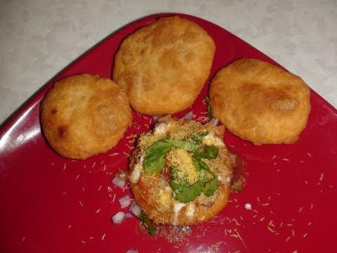 Khasta Kachori and Chaat Recipe Video - Dal Puri or Daal Poori