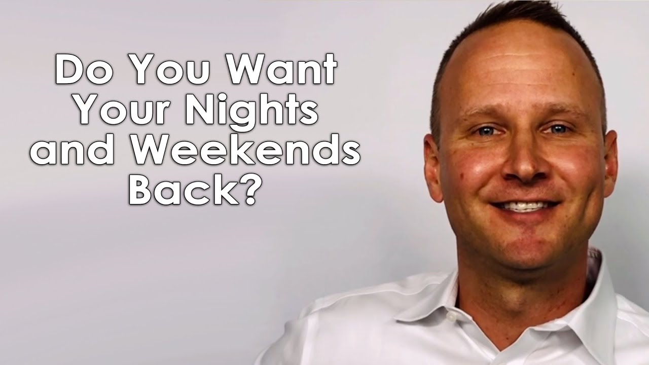 Do You Want Your Nights and Weekends Back?
