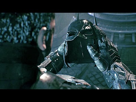 Batman Arkham Knight All Ending 100% Knightfall Protocol + Final Boss