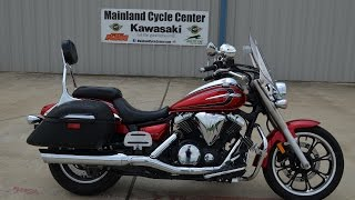 9. $6,499:  2012 Yamaha V Star 950 Tourer Red