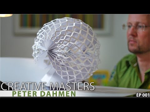 THE MAGIC MOMENT - Peter Dahmen The Amazing Paper Artist!