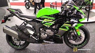 7. 2019 Kawasaki Ninja ZX6R ABS KRT - Walkaround - Debut at 2018 AIMExpo Las Vegas