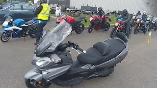 8. 2016 Suzuki 650 Burgman Review from Argyll Motorsports Suzuki Demo Day.