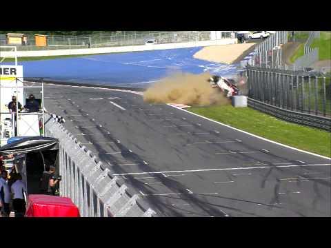 Жестока катастрофа на Red Bull Ring - GT4 Европейски серии