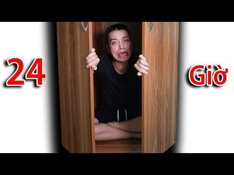 NTN - Thử Thách 24H Trong Tủ Kín ( 24H in the closet ) (видео)