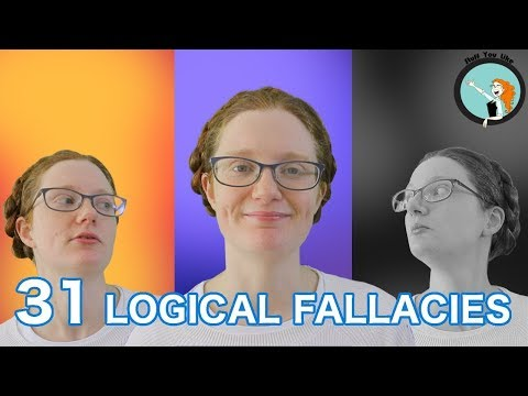 31 logical fallacies in 8 minutes