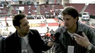 Chris Finch Interview (Part 2) - 2010 D-League Showcase