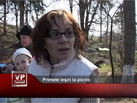 Primele ieşiri la picnic