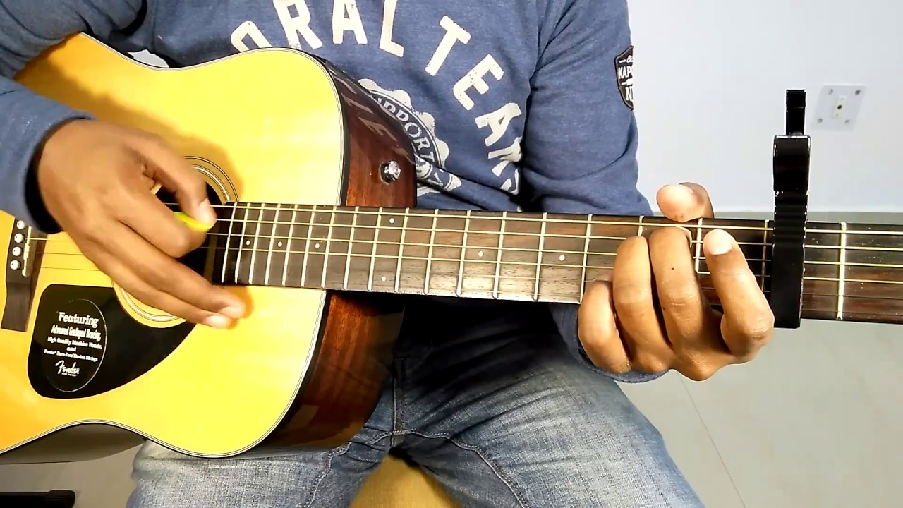 "AE MERE HUMSAFAR – ROMANTIC BOLLYWOOD SONG ""COMPLETE GUITAR COVER LESSONS"" AND CHORDS"
