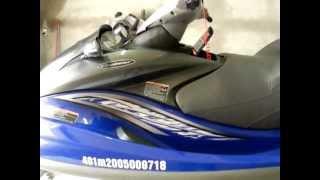 6. JET SKI YAMAHA FX CRUISER HO 160 HP 2005 1100cc