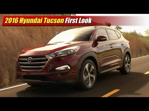 2016 Hyundai Tucson First Look