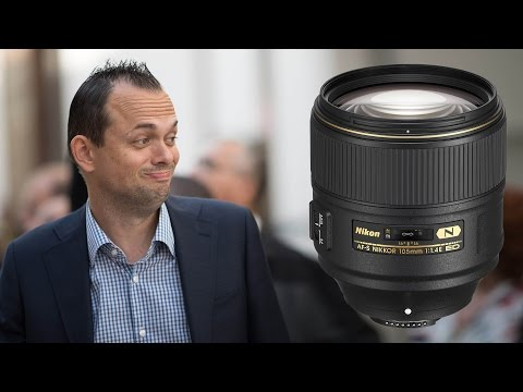 Nikon 105mm f1.4 - Hands on at Photokina