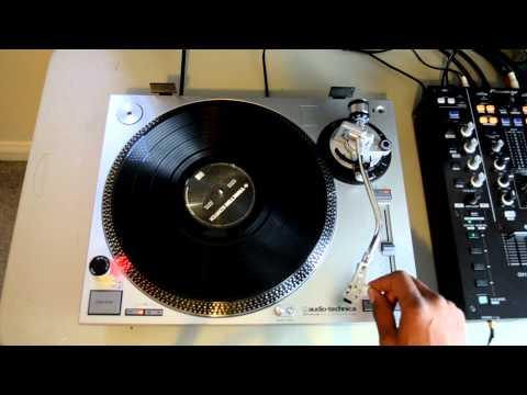 Audio-Technica AT-LP120-USB Professional Vinyl DJ Turntable HD-Video Review