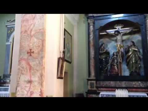 Visita nella chiesa della parrocchia