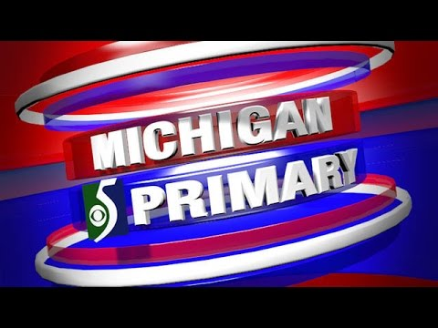Michigan Primary Election Coverage on WNEM-TV5 News at 11pm