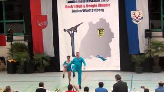 Katharina Laux & Tobias Laux - LM Baden-Württemberg & Hessen 2015