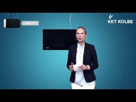 KKT KOLBE Produkt-Check: Insel-Dunstabzugshaube CUBE60STS