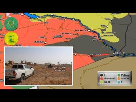 30 октября 2017. Военная обстановка в Сирии и Ираке. Борьба Асада и курдов за трассу Сирия  Ирак.