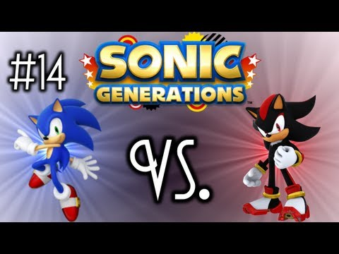 Sonic Generations - Ep. 14 - Sonic vs. Shadow - Modern