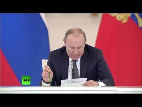 Путин проводит заседание Госсовета по развитию конкуренции в России - DomaVideo.Ru