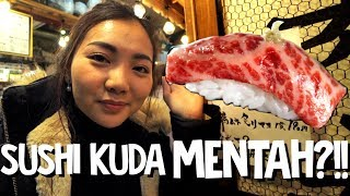 Video MAKAN SUSHI DAGING KUDA MENTAH??!!! MP3, 3GP, MP4, WEBM, AVI, FLV April 2019