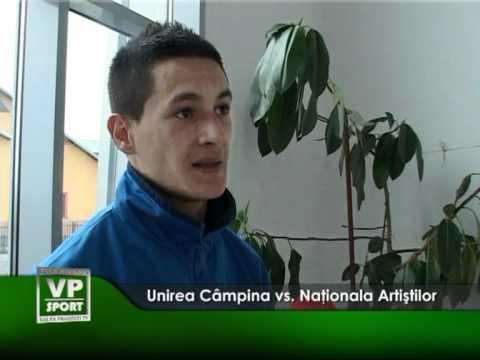 Unirea Câmpina vs. Naţionala Artiştilor