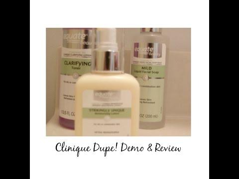 Clinique Skincare Dupe! Review & Demo