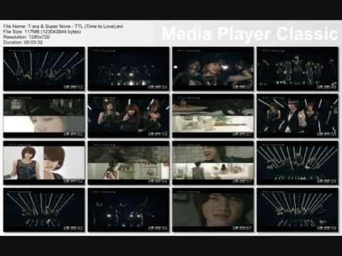 Video T Ara - Supernova -  TTL (Time To Love) -  Instrumental download in MP3, 3GP, MP4, WEBM, AVI, FLV February 2017