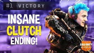 Insane Clutch Ending!! Very Emotional!! - COD Black Ops 4 Battle Royale Blackout - Ninja