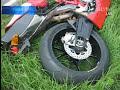 German ghostrider crashes at 140kmh