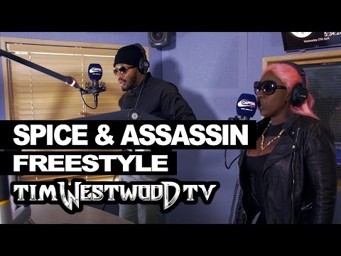 Spice & Assassin freestyle On Westwood