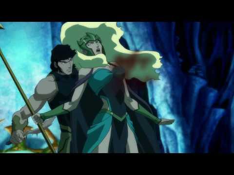 Death Of Aquaman's Mother - Justice League Throne Of Atlantis