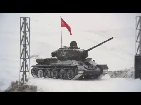 Югорск. ХМАО-Югра. T-90 23 ФЕВРАЛЯ.