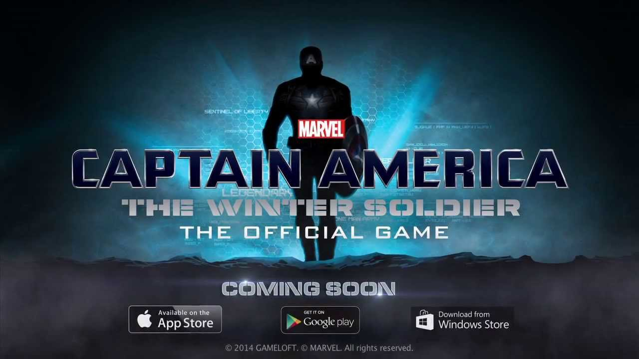 'Captain America: The Winter Soldier' Coming to iOS and Android in March from Marvel and Gameloft