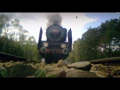 Pm36-2 Wolsztyn-Leszno***Polish steam locomotive Pm36-2***Cam on the track