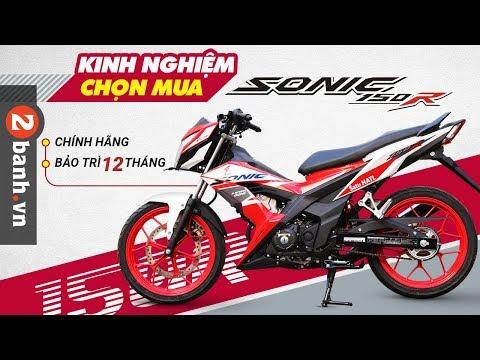 Kinh nghiệm chọn mua xe Honda Sonic 150R - Thời lượng: 4 phút, 57 giây.