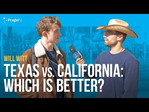 Texas vs. California: Which Is Better?