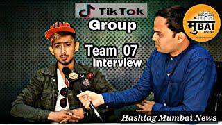 Team 07 Adnaan Interview On Hashtag Mumbai News   Tiktok Musically