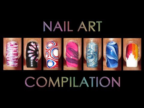 Nail Art Compilation | May & June 2016 (видео)