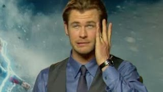 Chris Hemsworth on getting slapped by Natalie Portman