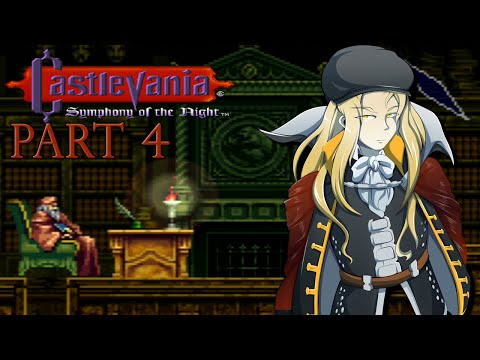 Let's Play Castlevania: Symphony of the Night [Blind] - Part 4
